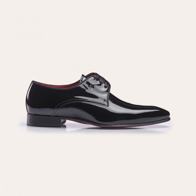 Greve Smoking Schuhe Ribolla Zwart