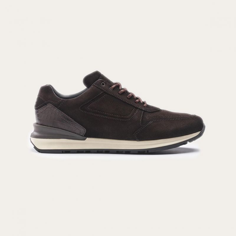 Greve Sneaker Podium Dark Brown Shade