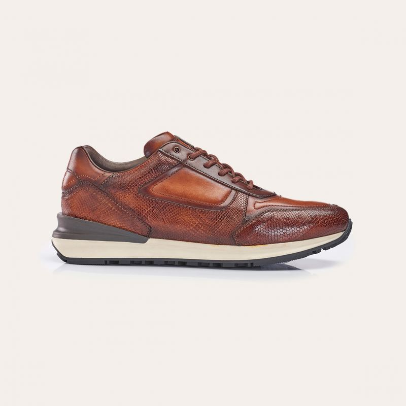 Greve Sneaker Podium Rust Pyton