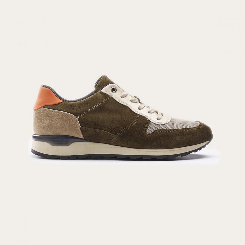 Greve Sneaker Fury Militare Florence