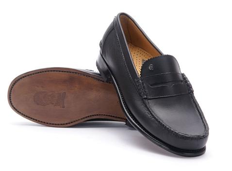 Greve Loafer Kansas Black Calf G
