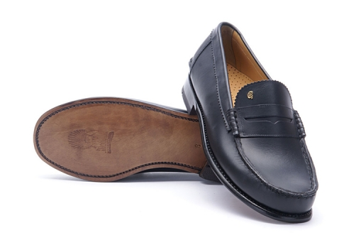Greve Loafer Kansas Blue Calf G