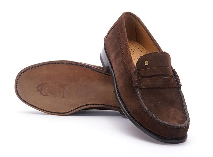 Greve Loafer Kansas Brown Suède G